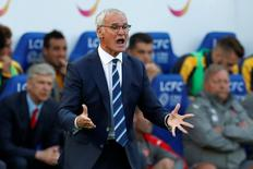 Leicester City manager Claudio Ranieri. Leicester City v Arsenal - Premier League - King Power Stadium - 20/8/16. Action Images via Reuters / John Sibley Livepic