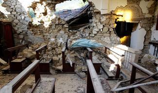 Faith in the ruins of Italy's quake