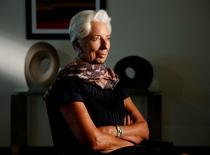 International Monetary Fund Managing Director Christine Lagarde is interviewed by Reuters at IMF headquarters in Washington U.S. August 31, 2016.   REUTERS/Gary Cameron
