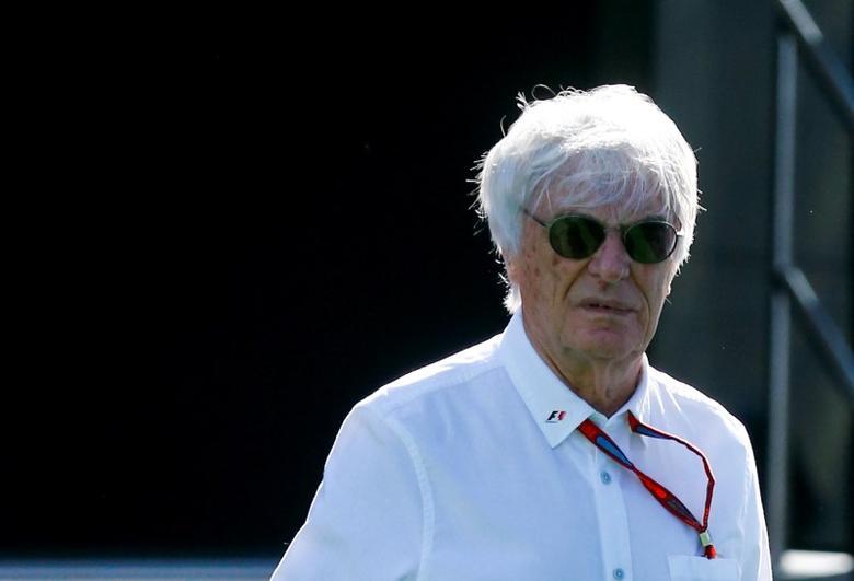Germany Formula One - F1 - German Grand Prix 2016 - Hockenheimring, Germany - 30/7/16 - President and CEO of Formula One Management Bernie Ecclestone before practice. REUTERS/Ralph Orlowski