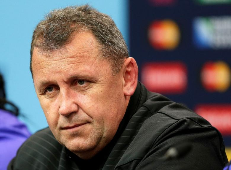 Rugby Union - New Zealand Press Conference - Twickenham Stadium - 23/10/15New Zealand assistant coach Ian Foster during a press conferenceAction Images via Reuters / Henry BrowneLivepic - RTS5U8R