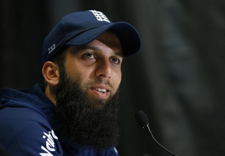 Britain Cricket - England Press Conferences - SSE SWALEC, Cardiff, Wales - 3/9/16England's Moeen Ali talks to the media during his press conferenceAction Images via Reuters / Paul ChildsLivepic