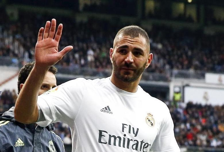 File photo of Real Madrid' Karim Benzema as he leaves the match January 17, 2016.  REUTERS/Andrea Comas/File Photo