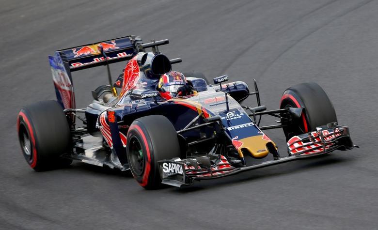 Hungary Formula One - F1 - Hungarian Grand Prix 2016 - Hungaroring, Hungary - 22/7/16 Toro Rosso's Daniil Kvyat during practice REUTERS/Laszlo Balogh/Files