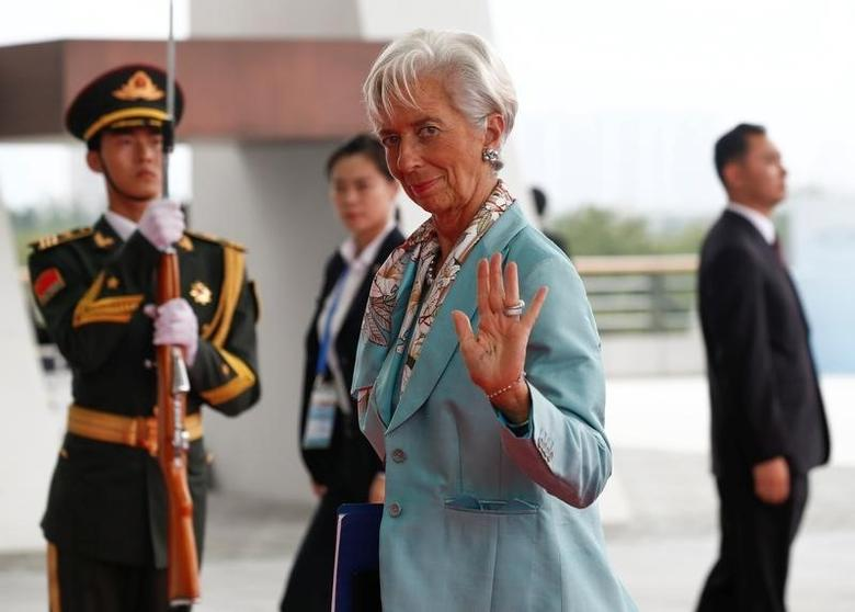 International Monetary Fund Managing Director Christine Lagarde arrives to attend the G20 Summit in Hangzhou, Zhejiang province, China, September 4, 2016. REUTERS/Rolex dela Pena/Pool