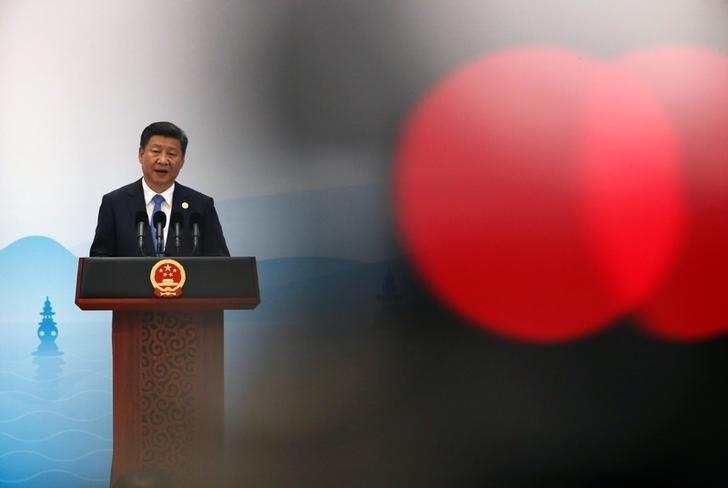 China's President Xi Jinping speaks at a news conference after the closing of G20 Summit in Hangzhou, Zhejiang Province, China, September 5, 2016. REUTERS/Damir Sagolj