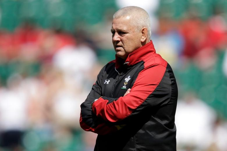 Wales head coach Warren Gatland before the match. Action Images via Reuters / Henry Browne