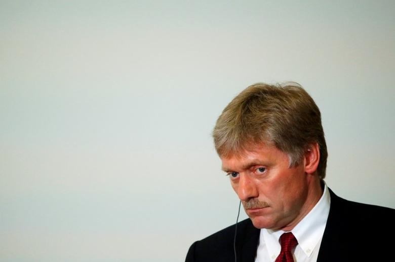 Kremlin spokesman Dmitry Peskov   in Sochi, Russia, May 20, 2016. REUTERS/Sergei Karpukhin
