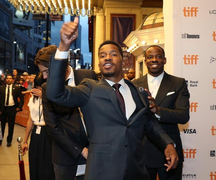 Director Nate Parker arrives for the premiere of the film The Birth Of a Nation at TIFF the Toronto International Film Festival in Toronto, September 9, 2016.    REUTERS/Fred Thornhill