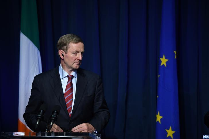 Irish Prime Minister Enda Kenny speaks at a press conference at Government Buildings in Dublin, Ireland, July 21, 2016. REUTERS/Clodagh Kilcoyne
