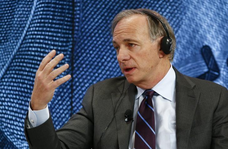 Ray Dalio, Chairman and Chief Investment Officer, Bridgewater Associates attends the session 'Where Is the Chinese Economy Heading?' of the annual meeting of the World Economic Forum (WEF) in Davos, Switzerland January 21, 2016. REUTERS/Ruben Sprich