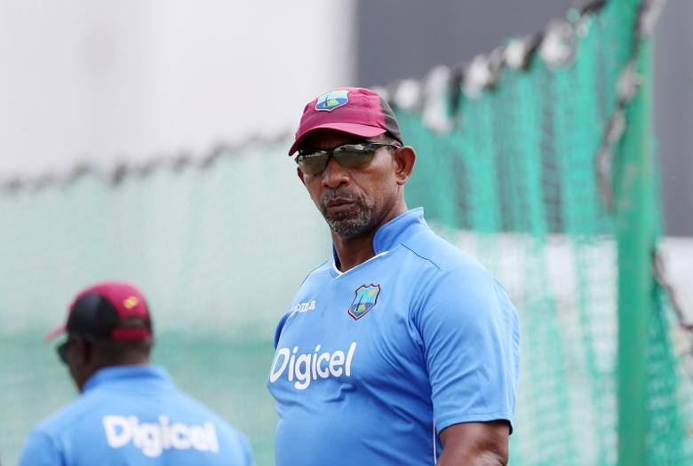 Cricket - West Indies Nets - Kensington Oval, Barbados - 28/4/15West Indies head coach Phil Simmons during netsAction Images via Reuters / Jason O'Brien
