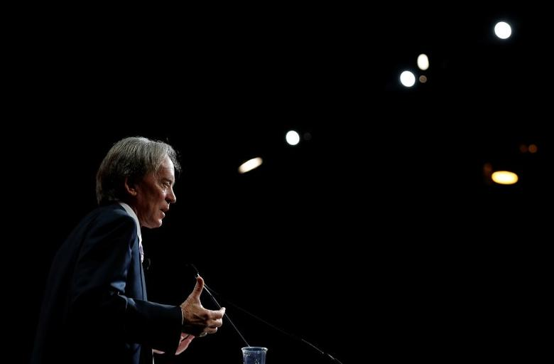 Bill Gross speaks at the Morningstar Investment Conference in Chicago, Illinois, in this June 19, 2014 file photo. REUTERS/Jim Young