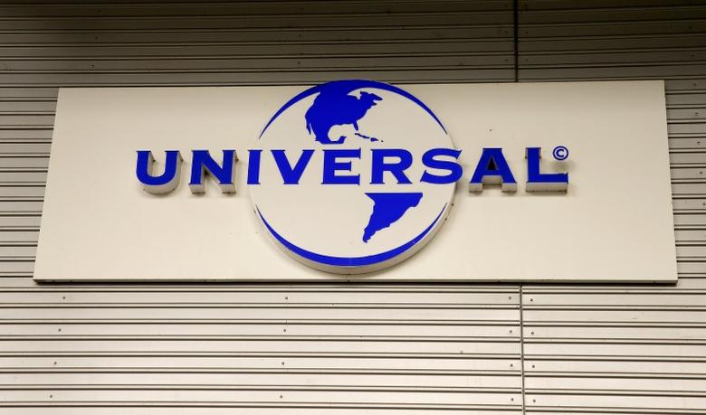 The logo of Universal Music Group (UMG) is seen at a building in Zurich, Switzerland July 25, 2016.     REUTERS/Arnd Wiegmann