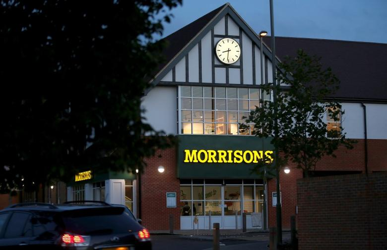 A Morrisons supermarket is seen in Weybridge, Britain August 19, 2016. Picture taken August 19, 2016. To match MORRISONS-STRATEGY/   REUTERS/Peter Nicholls