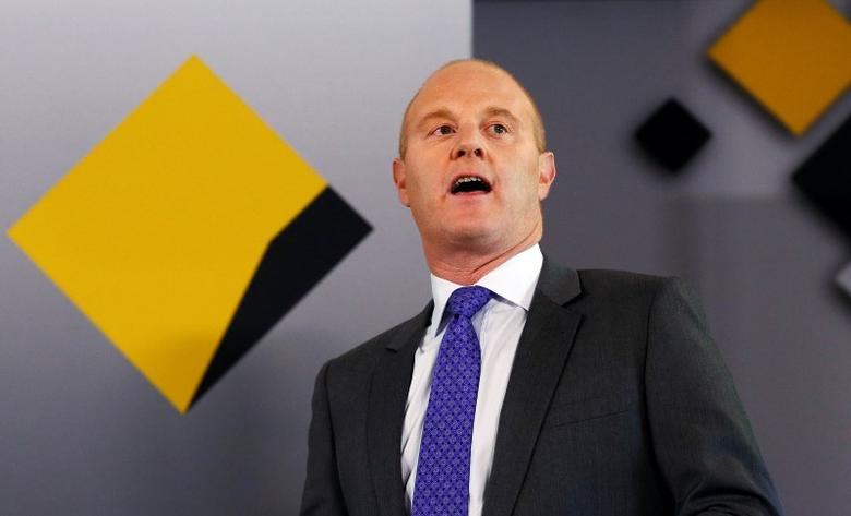 Ian Narev, Chief Executive Officer of Commonwealth Bank of Australia talks during a media conference in central Sydney August 14, 2013. REUTERS/Daniel Munoz