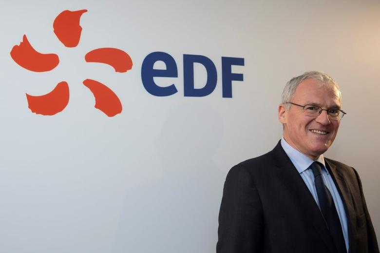 Jean-Bernard Levy, Chief Executive Officer of France's state-owned electricity company EDF, poses before the company's 2014 annual results presentation in Paris, France, February 12, 2015. REUTERS/Philippe Wojazer/File Photo