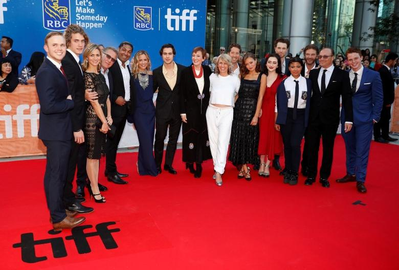 The cast arrives on the red carpet for the film ''The Journey is the Destination'' during the 41st Toronto International Film Festival (TIFF), in Toronto, Canada, September 14, 2016.    REUTERS/Mark Blinch