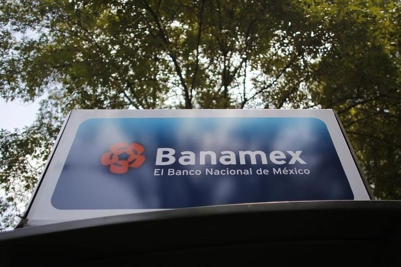 A Banamex bank advertisement is seen in Mexico City August 28, 2014. REUTERS/Tomas Bravo