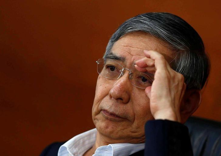 Bank of Japan (BOJ) Governor Haruhiko Kuroda attends a news conference in Tokyo, Japan, June 16, 2016. REUTERS/Thomas Peter