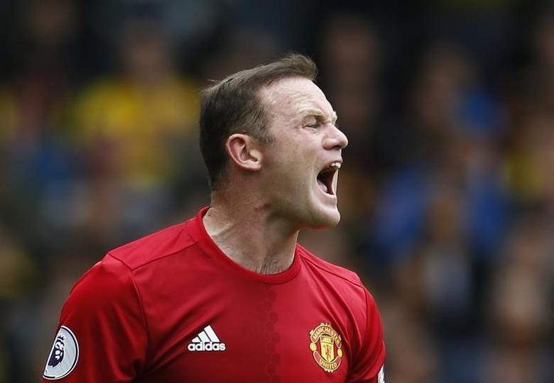 Britain Football Soccer - Watford v Manchester United - Premier League - Vicarage Road - 18/9/16Manchester United's Wayne Rooney Action Images via Reuters / Andrew CouldridgeLivepic