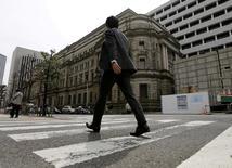 Sede do banco central japonês, em Tóquio.    23/03/2016       REUTERS/Toru Hanai