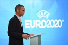 Novo presidente da Uefa, Aleksander Ceferin.    21/09/2016       Action Images via Reuters / Tony O'Brien