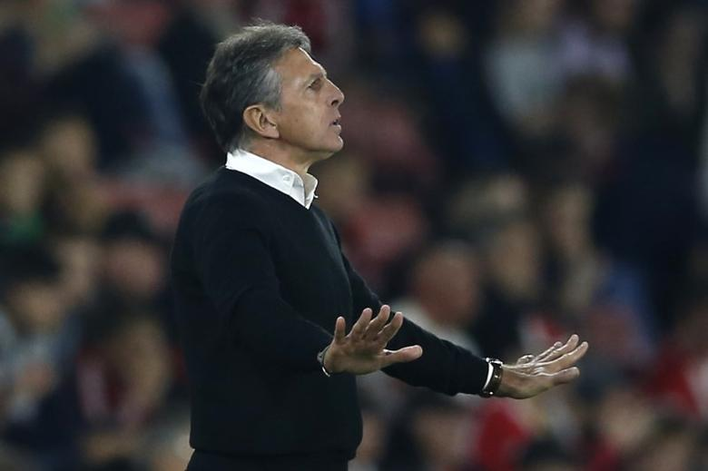 Britain Football Soccer - Southampton v Crystal Palace - EFL Cup Third Round - St Mary's Stadium - 21/9/16Southampton manager Claude Puel Action Images via Reuters / Matthew ChildsLivepic
