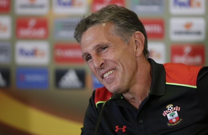 Britain Soccer Football - Southampton Press Conference - Southampton Training Ground & St Mary's Stadium, Southampton, England - 14/9/16Southampton manager Claude Puel during the press conferenceAction Images via Reuters / Henry Browne/ Livepic/ Files