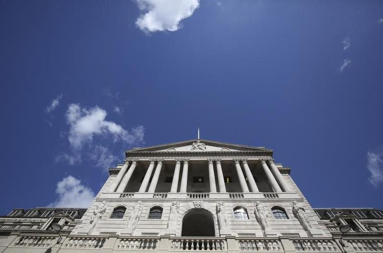 The Bank of England is seen in the City of London in London, Britain August 4, 2016.   REUTERS/Neil Hall