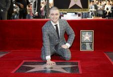 Radcliffe posa na Calçada da Fama em Hollywood. 12/11/2015. REUTERS/Danny Moloshok