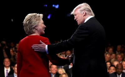 Clinton vs. Trump: The first debate