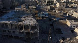 Devastation of Aleppo