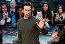 "Actor Mark Wahlberg poses as he arrives at the European premiere of ""Deepwater Horizon"" at Leicester Square in London, Britain September 26, 2016. REUTERS/Dylan Martinez"
