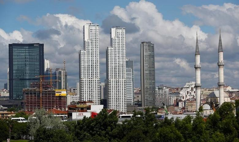 Business and residential buildings are seen in Sisli district in Istanbul, Turkey May 6, 2016. REUTERS/Murad Sezer/File Photo