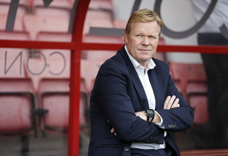 Britain Football Soccer - AFC Bournemouth v Everton - Premier League - Vitality Stadium - 24/9/16Everton manager Ronald Koeman before the gameAction Images via Reuters / Matthew ChildsLivepic