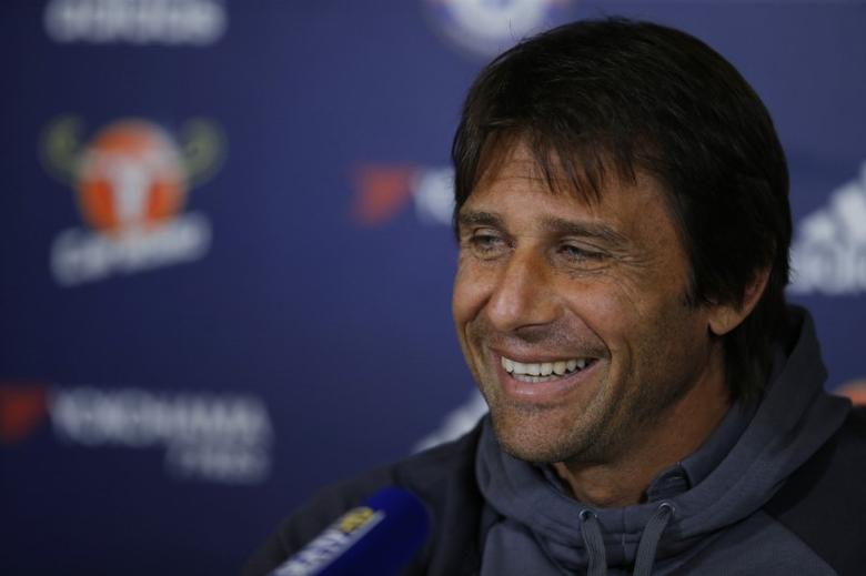 Britain Football Soccer - Chelsea - Antonio Conte Press Conference - Chelsea Training Ground - 30/9/16Chelsea manager Antonio Conte during the press conferenceAction Images via Reuters / Andrew CouldridgeLivepic