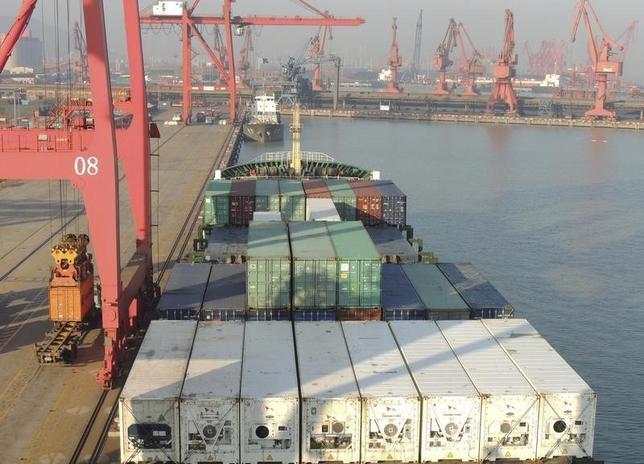 10月4日、中国商務省の沈丹陽報道官は、中国の貿易が引き続き強い下押し圧力にさらされているとの見方を示した。提供写真(2016年 ロイター/China Daily)