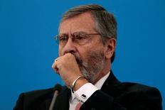 Ministro da Transparência, Torquato Jardim, durante entrevista coletiva em Brasília 02/06/2016 REUTERS/Ueslei Marcelino