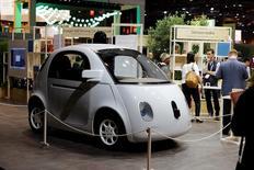Carro autônomo do Google é exibido no evento Viva Technology, em Paris 30/06/2016 REUTERS/Benoit Tessier