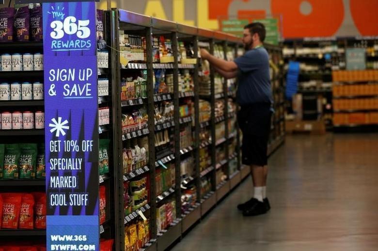 2016年5月24日,美国洛杉矶Whole Foods Market旗下的一家食品杂货店。REUTERS/Mario Anzuoni