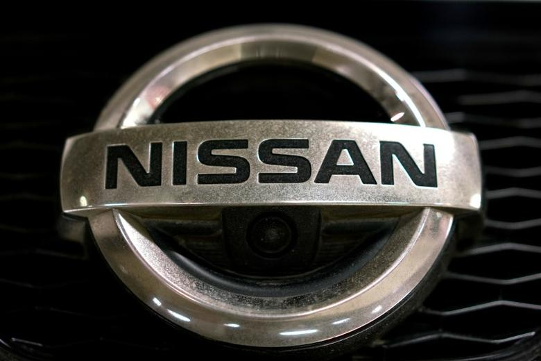 A view shows the logo of Nissan on a car in Moscow, Russia, July 6, 2016. REUTERS/Maxim Zmeyev/Files
