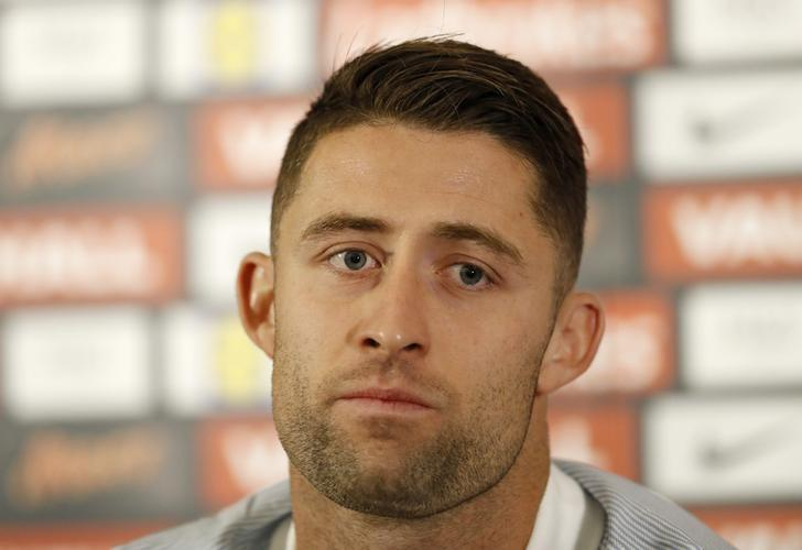 Football Soccer Britain - England Press Conference - St. George?s Park, Burton upon Trent - 4/10/16England's Gary Cahill during the press conferenceAction Images via Reuters / Carl RecineLivepic