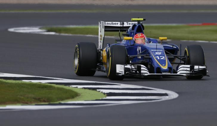 Britain Formula One - F1 - British Grand Prix 2016 - Silverstone, England - 8/7/16Felipe Nasr of Sauber during practiceAction Images via Reuters / Andrew BoyersLivepic/Files