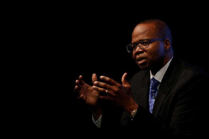 Brooklyn District Attorney Ken Thompson speaks during a Reuters Newsmaker event on gun violence in New York City, U.S., July 18, 2016.  REUTERS/Brendan McDermid