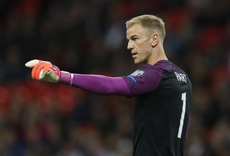Football Soccer Britain - England v Malta - 2018 World Cup Qualifying European Zone - Group F - Wembley Stadium, London, England - 8/10/16England's Joe Hart Action Images via Reuters / Carl RecineLivepic