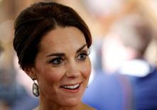 Kate Middleton durante evento em Victoria, no Canadá. 26/9/2016. REUTERS/Chris Wattie