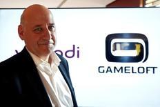 Stéphane Roussel, directeur des opérations de Vivendi et PDG de Gameloft, a exclu mercredi une prise de contrôle hostile d'Ubisoft, le numéro trois mondial des jeux vidéo.  /Photo prise le 12 octobre 2016/REUTERS/Charles Platiau