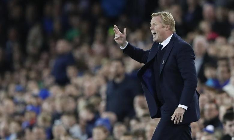 Britain Football Soccer - Everton v Crystal Palace - Premier League - Goodison Park - 30/9/16Everton manager Ronald KoemanAction Images via Reuters / Carl Recine/ Livepic/ Files