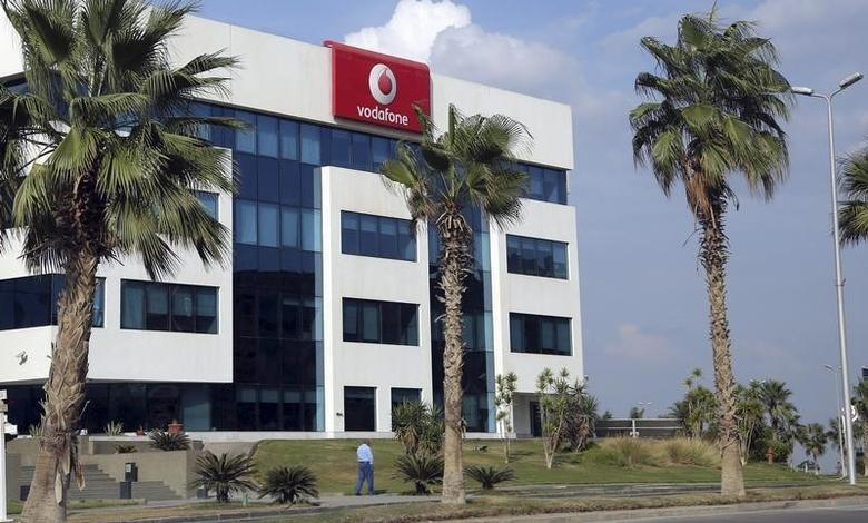The building of Vodafone Egypt Telecommunications Co is seen at the Smart Village in the outskirts of Cairo, Egypt, October 27, 2015. REUTERS/Asmaa Waguih